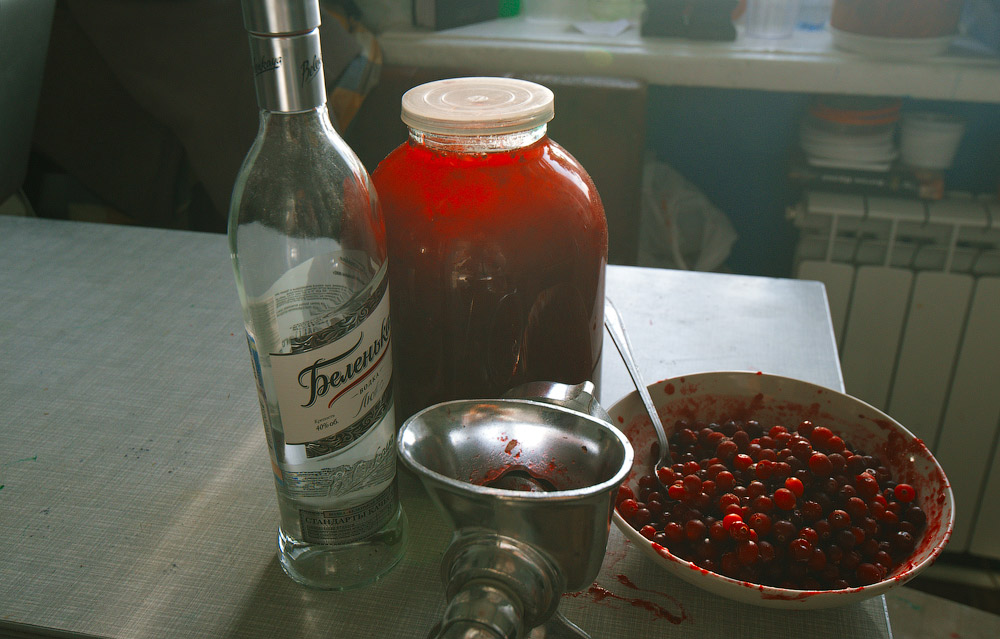 Настойка клюквенная на спирту в домашних условиях