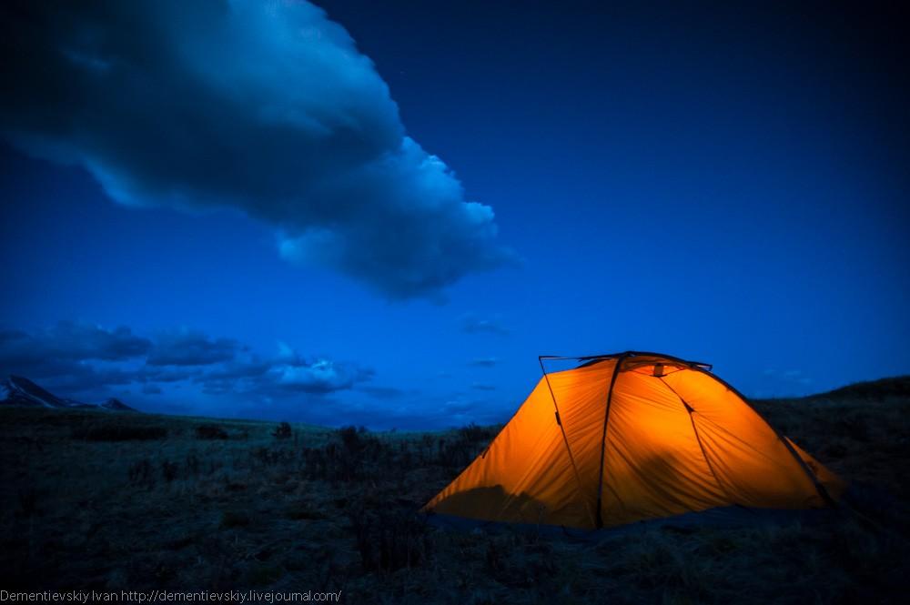 Случай в палатке