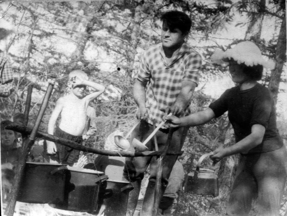 Пионерский лагерь на озере Батуоби. Лето 1966 год