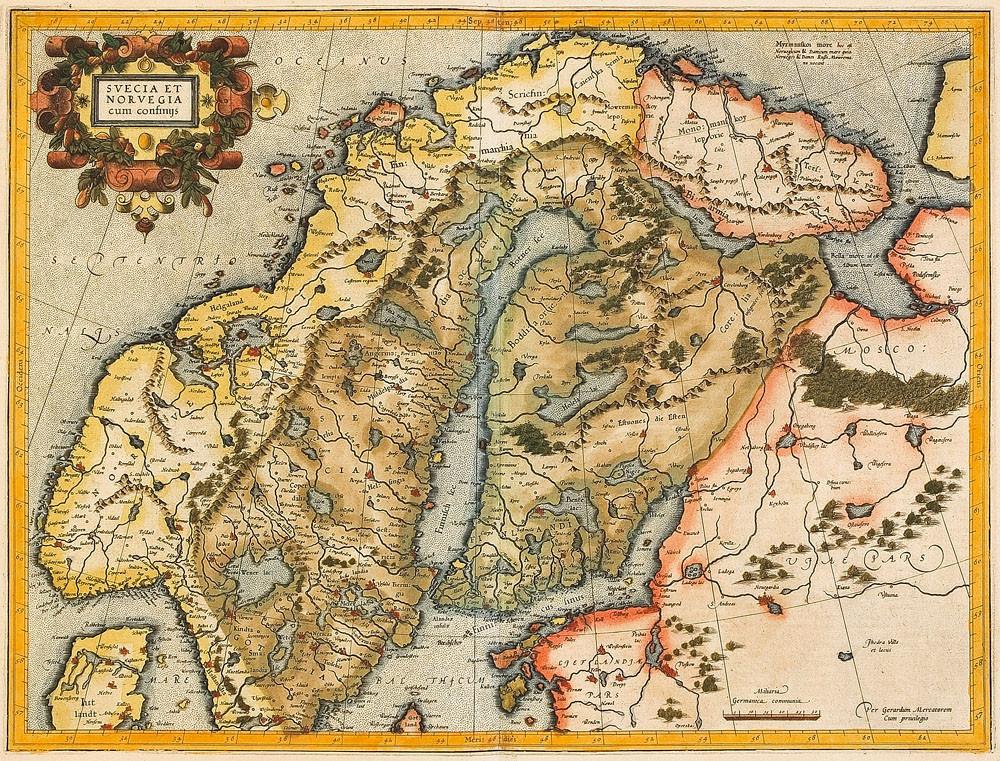 Gerhard_Mercator-Svecia_et_Norvegia_cum_confinys_1595