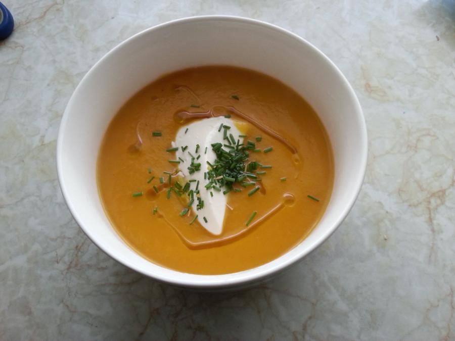 Pumpkin soup~
