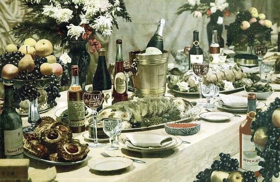 «Сакральный символ» советского застолья. Обязательные блюда торжественного стола