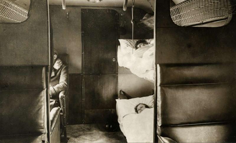 внутри трехмоторного Юнкерса Дерулюфта 1927
