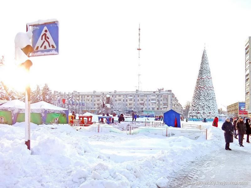 Зимний Луганск, январь 2019 г.