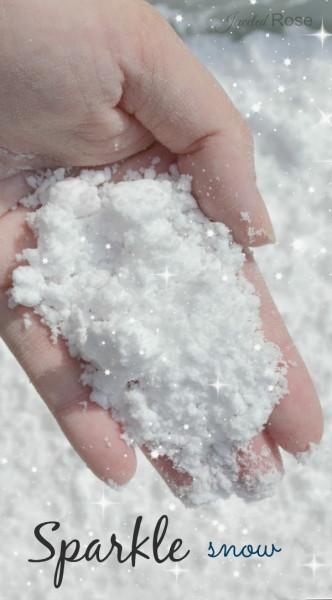 Как сделать искусственный снег — 20 рецептов