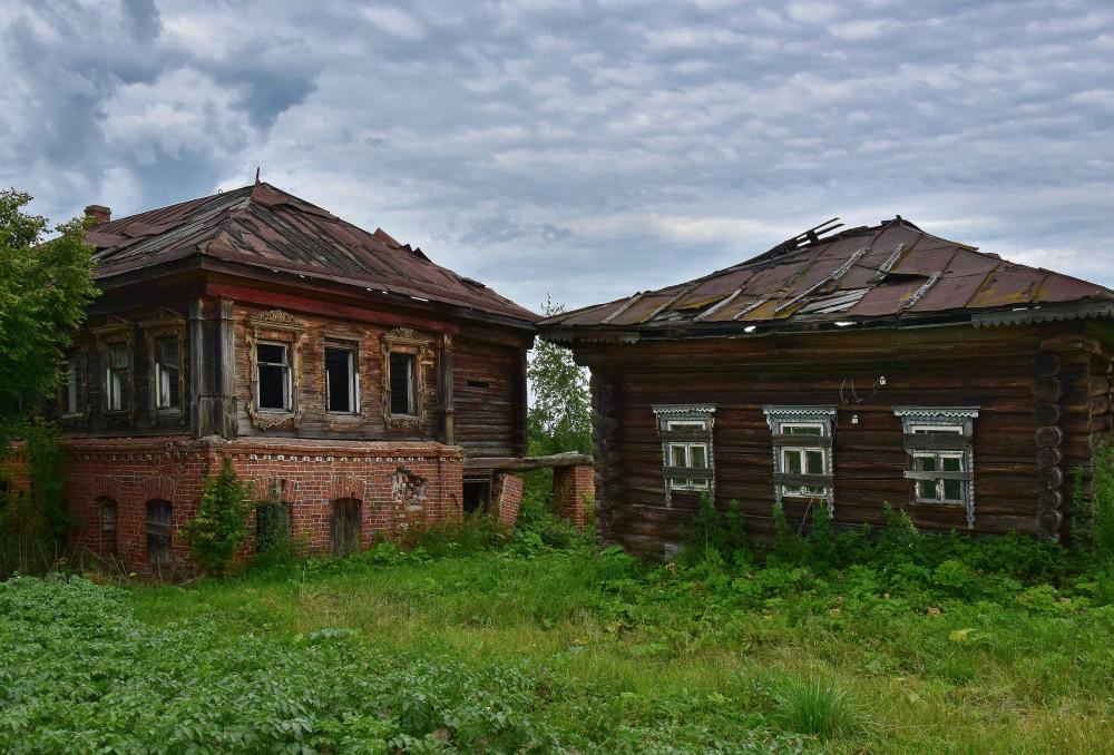 Деревянные интересности бывшего Кинешемского уезда.