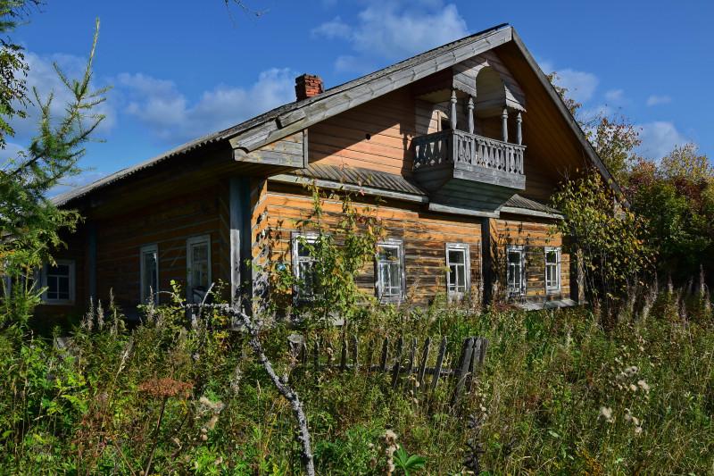 Вологодский тип дома, деревня Заречье