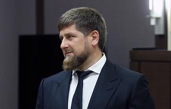 Рамзан Кадыров болеет за Сборную Россию!