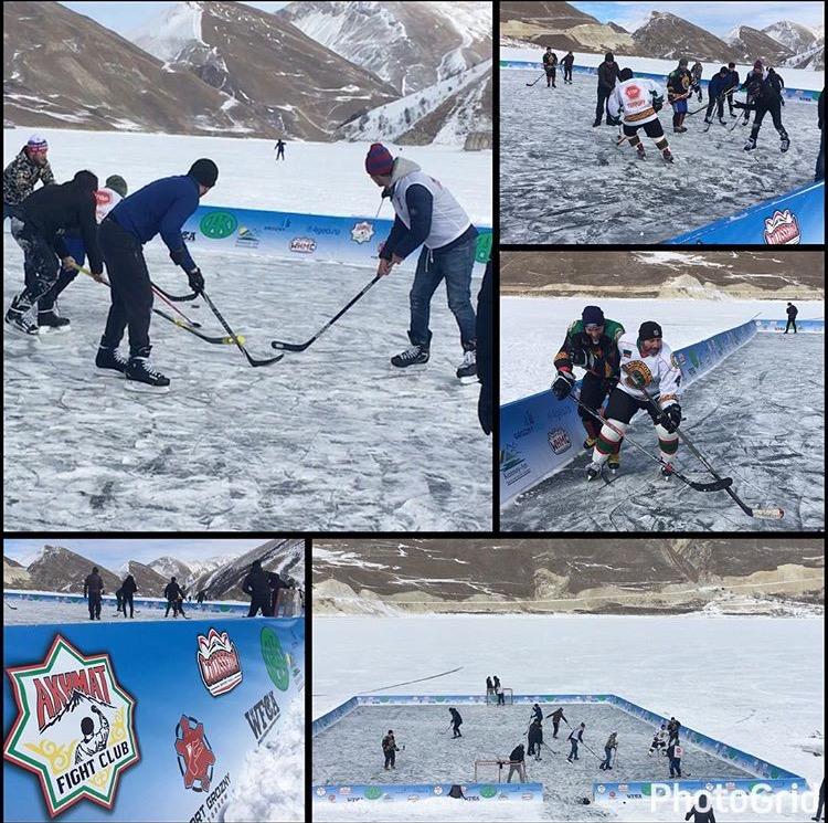 Хоккей в Чечне?!