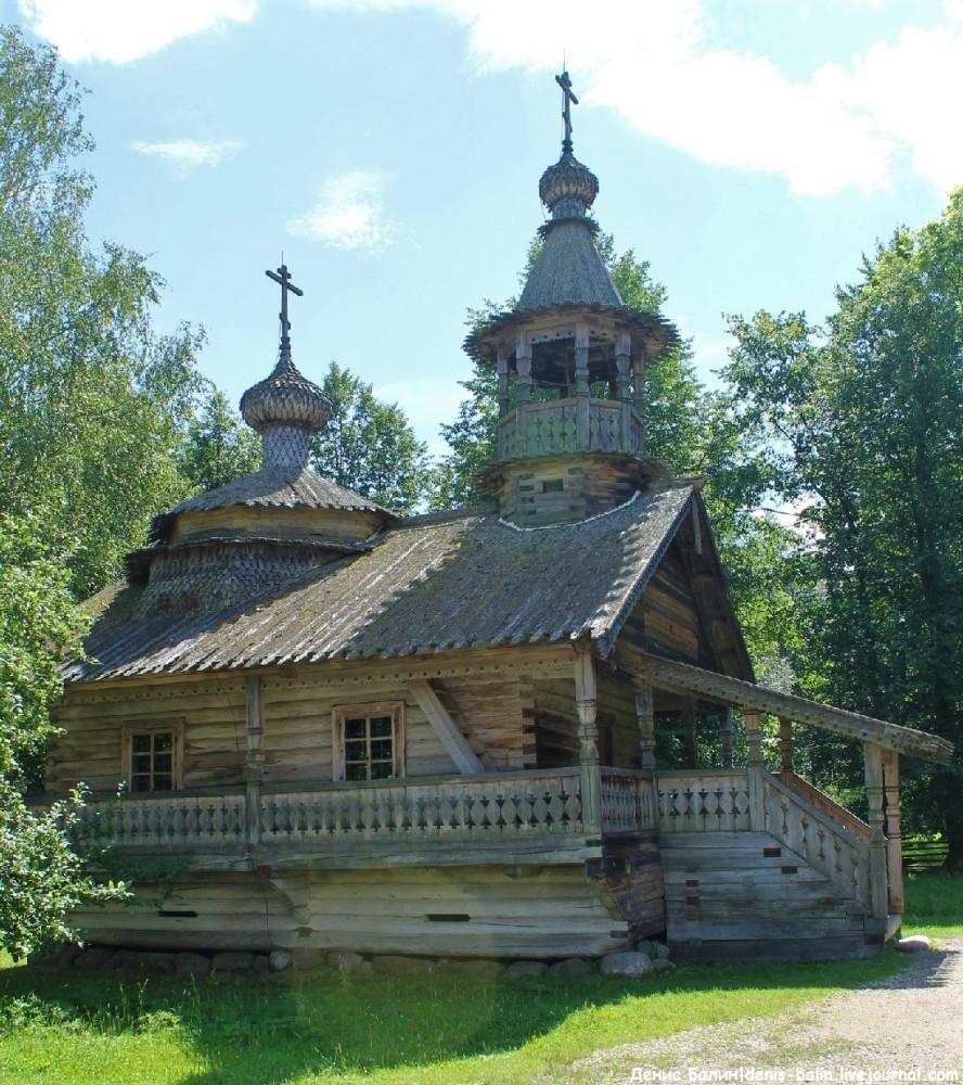 Новгородский музей деревянного зодчества «Витославлицы»