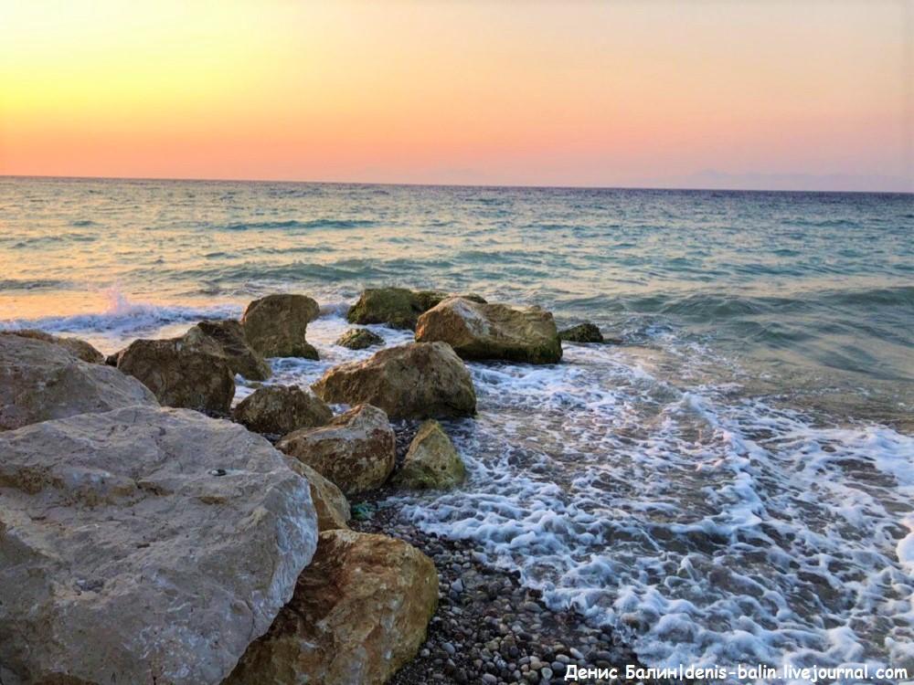 Закат на Эгейском море (Видео)