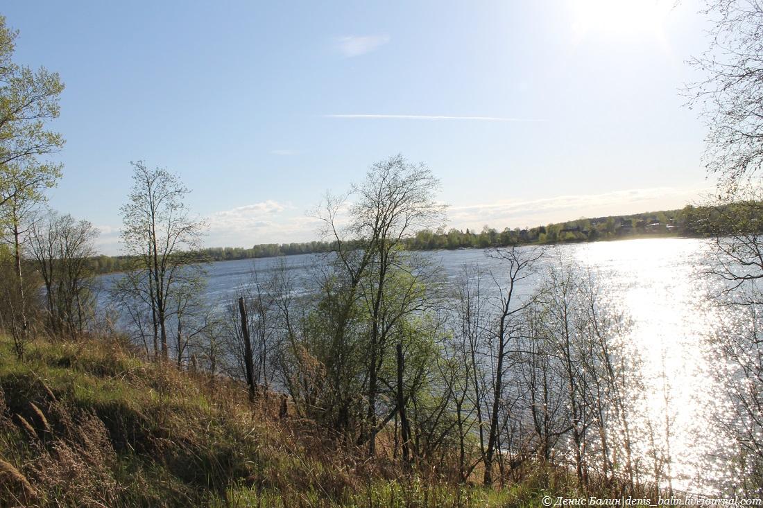 Река Нева в Ленинградской области