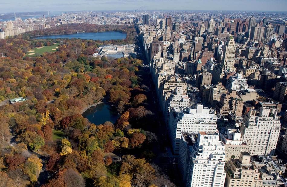 Нью-йорк фото с высоты
