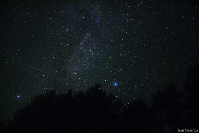 Ночь и метеоры