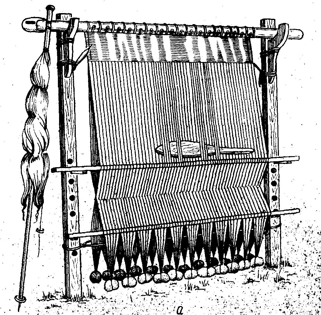 история развития ткачества в картинках часы