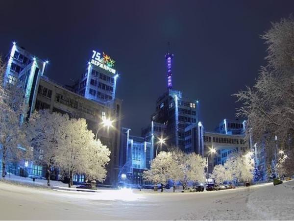 15.украина. харьков зима
