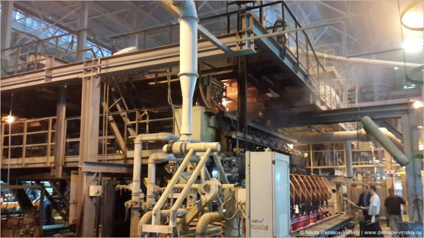 1 Общий вид основного технологического оборудования по производству стекольной тары