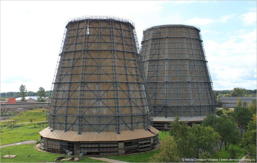 1 Общий вид башенных градирен газовой ТЭЦ
