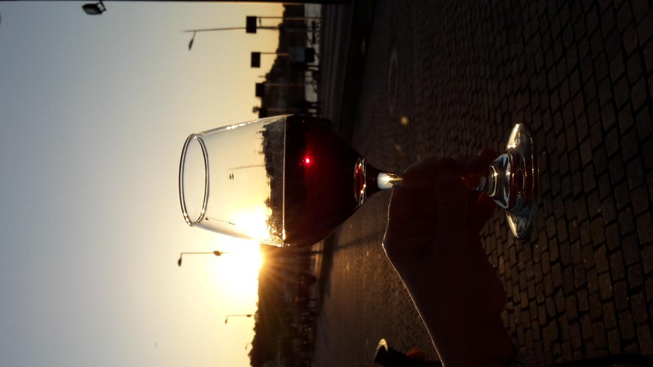 И в бокале вина из виноградников на реке Дуору.