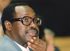 Image result for President Pasteur Bizimungu + kagame