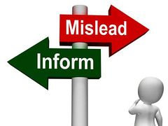 Mislead or Inform