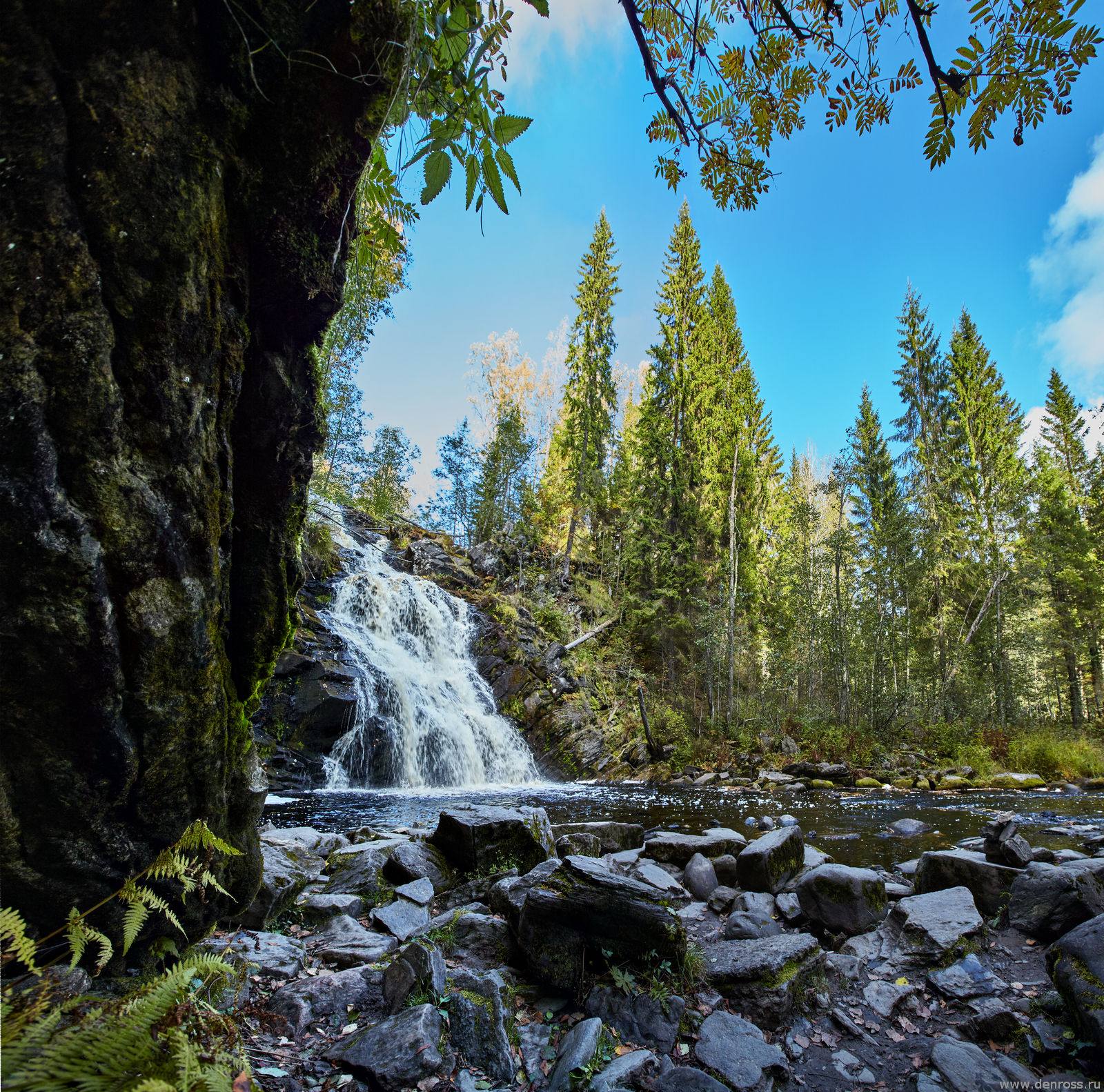 торжество, водопад белые мосты карелия фото защиты преданность