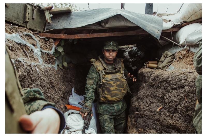 В окопах Авдеевской промзоны. 2017