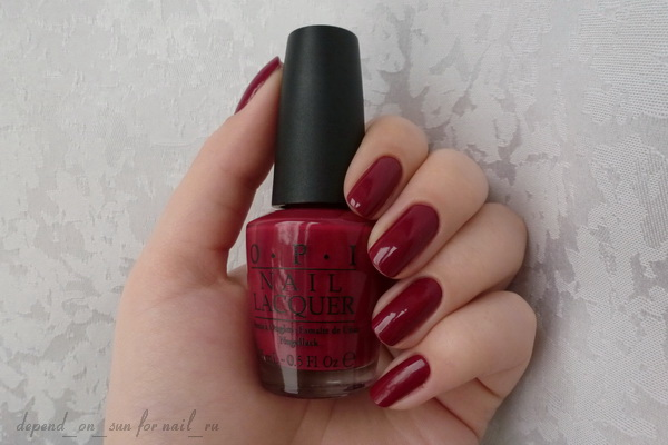 OPI From A to Z-urich