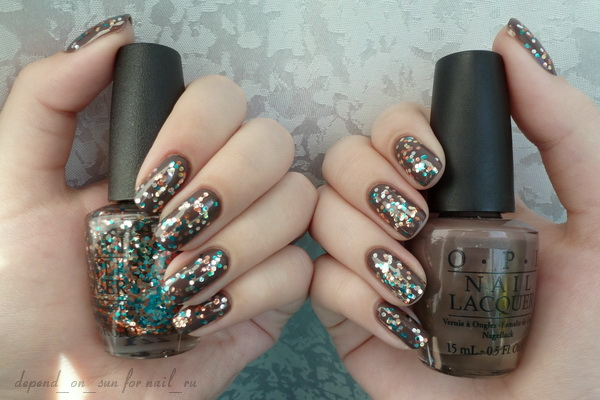OPI You Don't Know Jacques! + The Living Daylights
