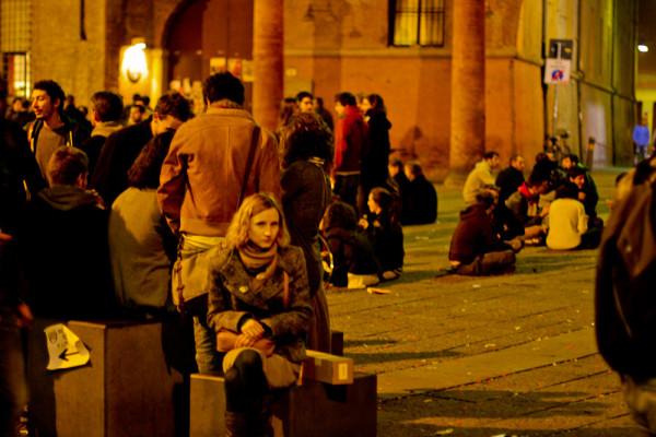 Вечерняя Болонья