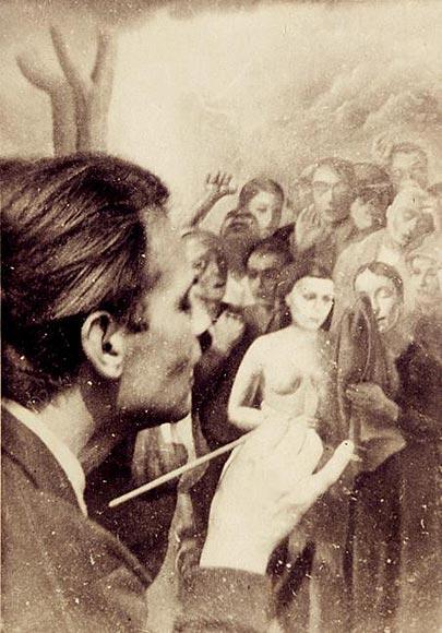 """Felix Nussbaum painting """"Storm"""", 1941"""