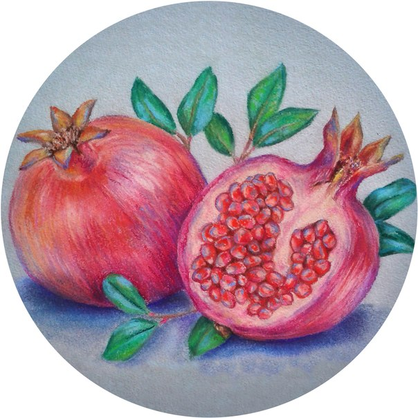 Pastel Pomegranate