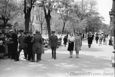 Одесса-оккупация-бульвар