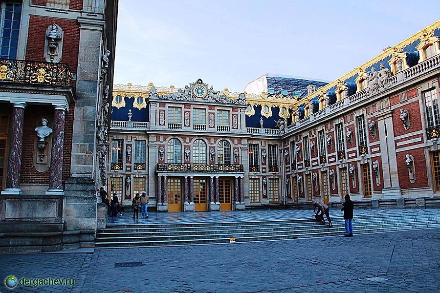 Дворец версаля большой фото
