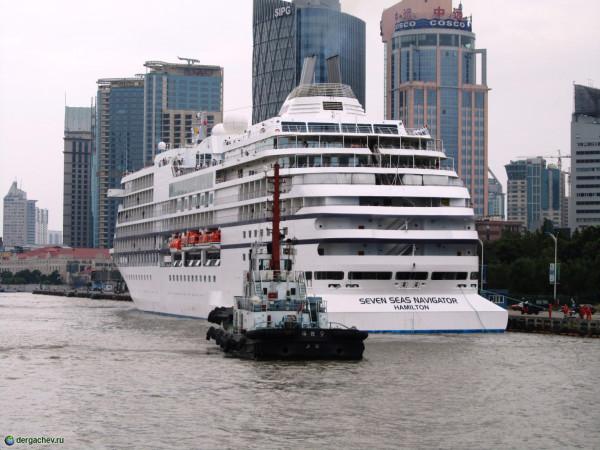 Шанхай. Круизная столица Востока
