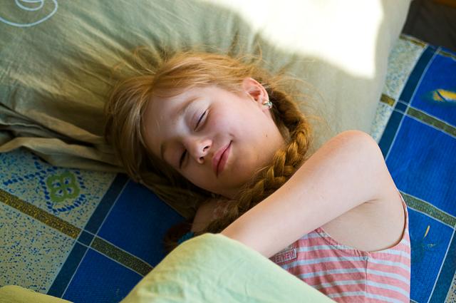 Когда сестра спит