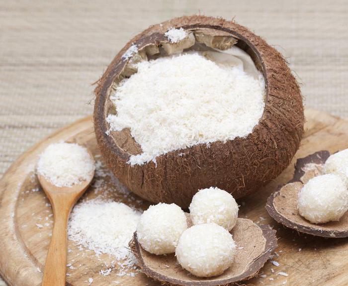 Сколько калорий в кокосе мякоти