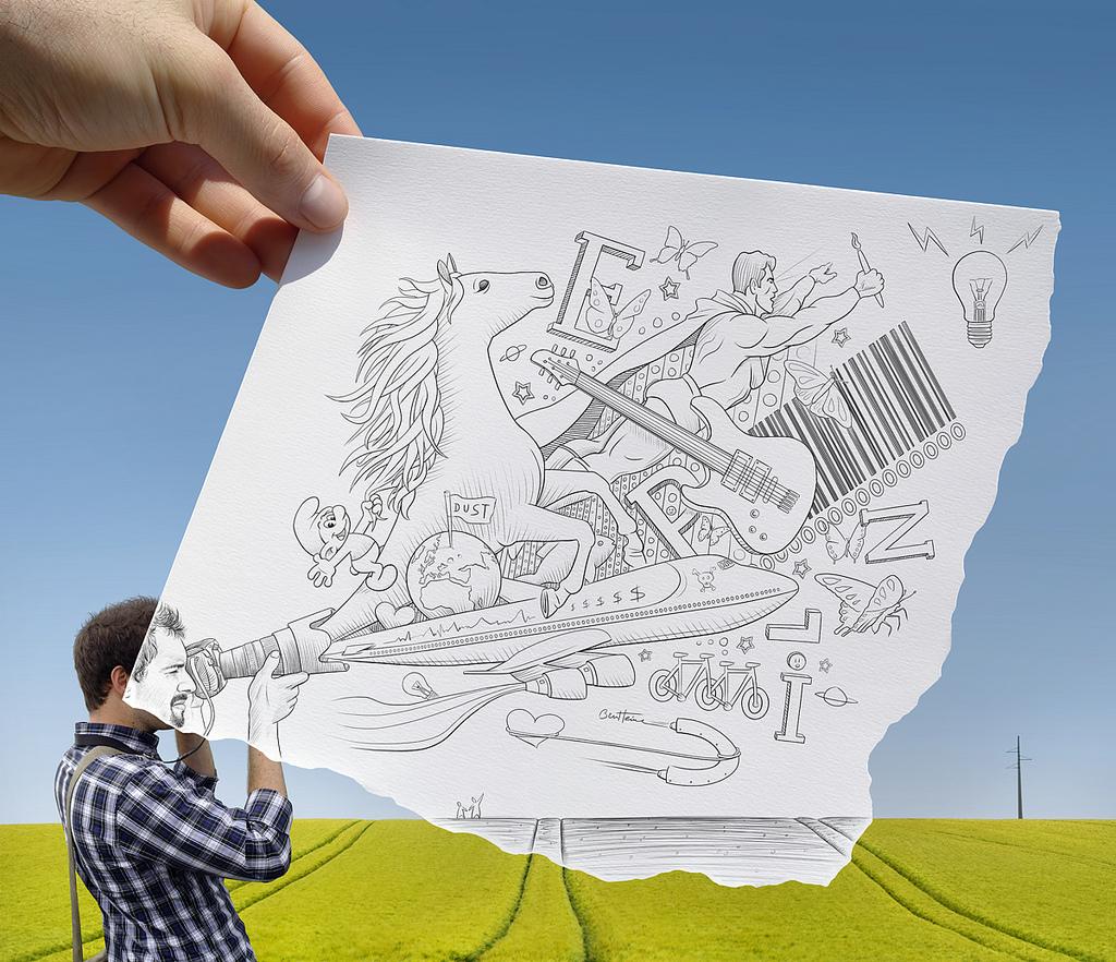 Прикольные рисунки креативные идеи