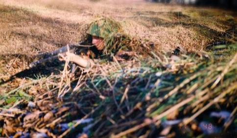 подготовка бойца, тренировка в маскировке и длительном контакте, Кавказ. фото из личного архива