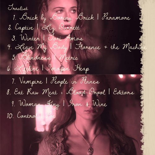Sansa mix back cover