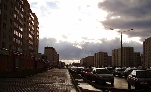 Вид на улицу Московскую