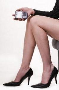 sexy legs businesswoman female executive