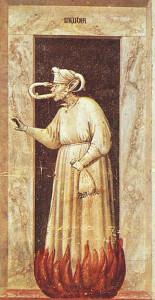 Giotto_-_Scrovegni_-_-48-_-_Envy