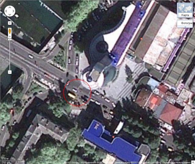 Перекресток около Центрального рынка