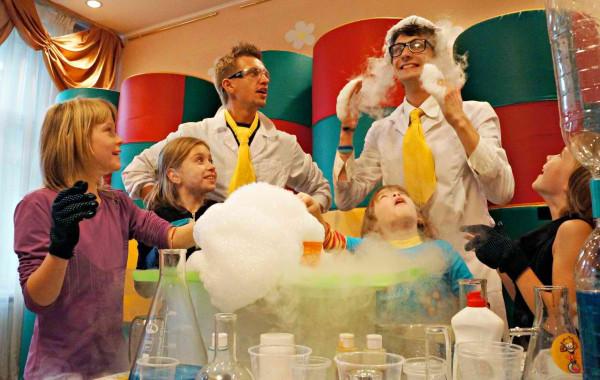 научное шоу на новый год