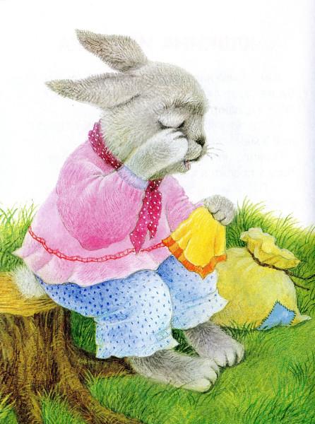 картинка из русских сказок зайчика сожалению, полететь