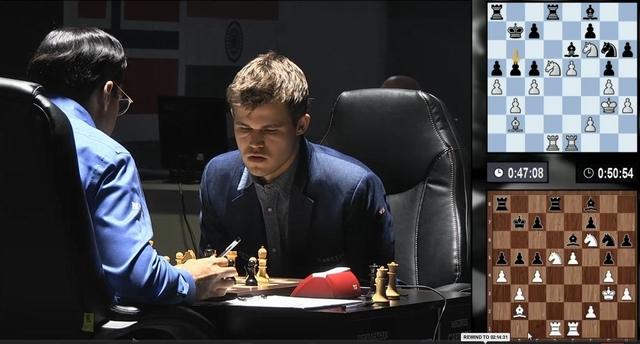 матч Карлсен - Ананд