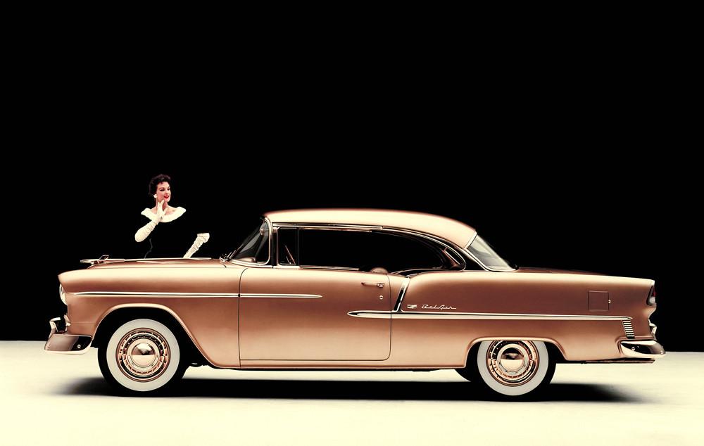 Chevrolet V8 1955 год. USA N1