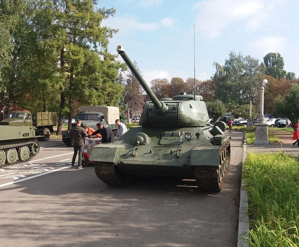Т-34-85 и другие танки Олдкарленда. Еще фотографии