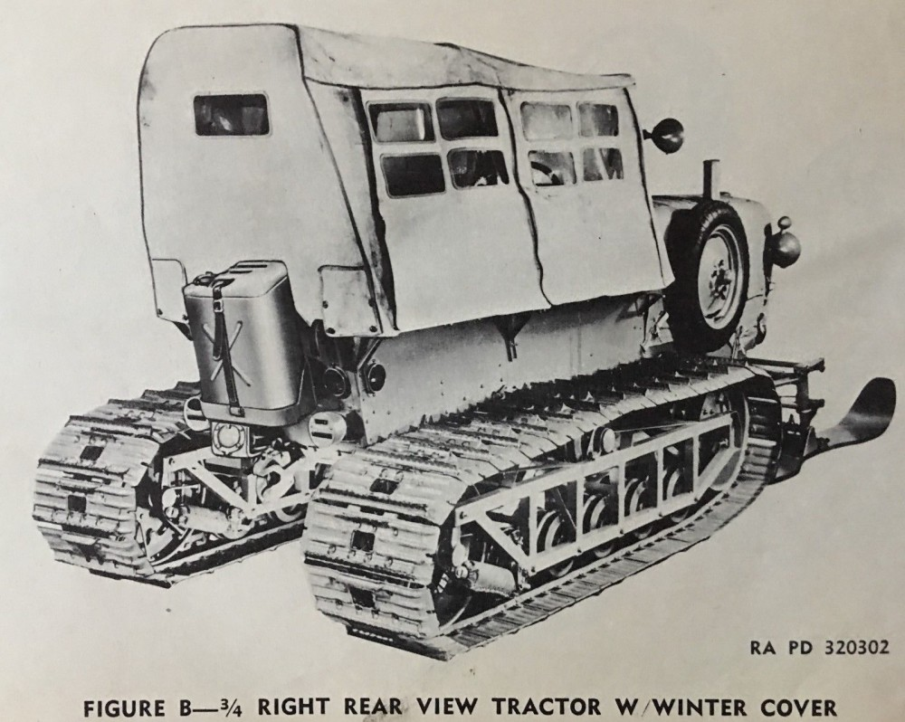 Allis-Chalmers G194 G195 M7 SnowTractor ORD 7 8 9 1